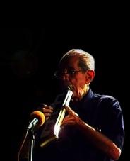 V Balsara playing Melodica